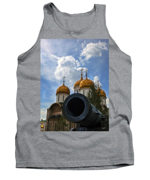 Cannon And Cathedral  - Russia Tank Top