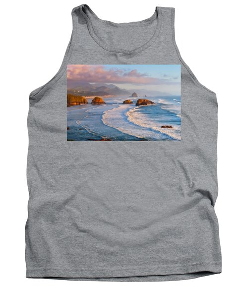 Cannon Beach Sunset Tank Top