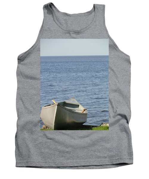 Tank Top featuring the photograph Canoe by Tiffany Erdman