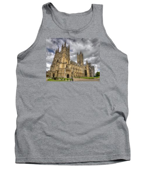 Tank Top featuring the photograph Canterbury Cathedral by Tim Stanley
