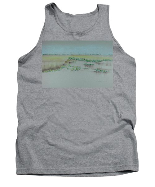 Tank Top featuring the pastel Canyon View by Michele Myers