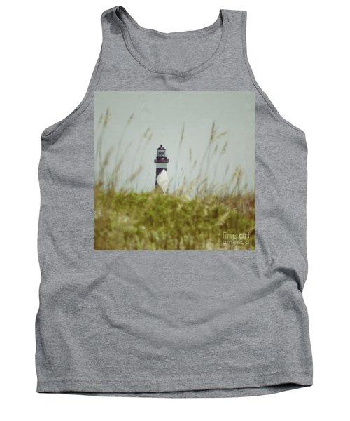 Cape Lookout Lighthouse - Vintage Tank Top
