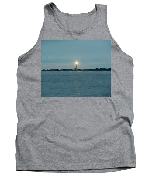 Cape May Beacon Tank Top by Ed Sweeney