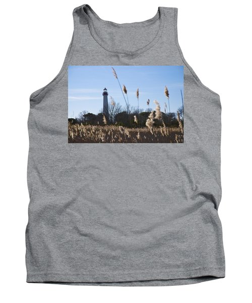 Tank Top featuring the photograph Cape May Light by Jennifer Ancker