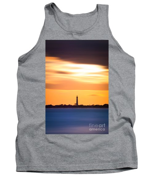 Cape May Lighthouse Vertical Version 2 Tank Top