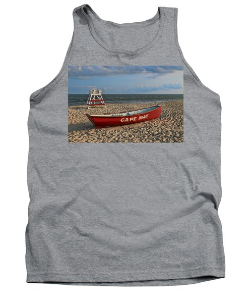 Cape May N J Rescue Boat Tank Top