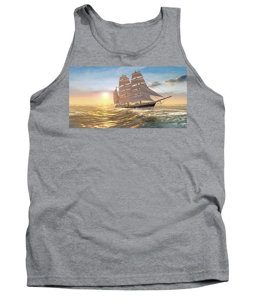Captain Larry Paine Clippership Tank Top