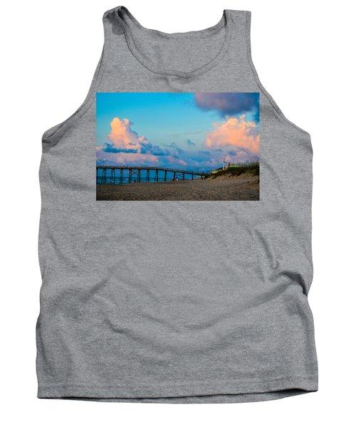 Carolina Blue Over Kure Beach Tank Top