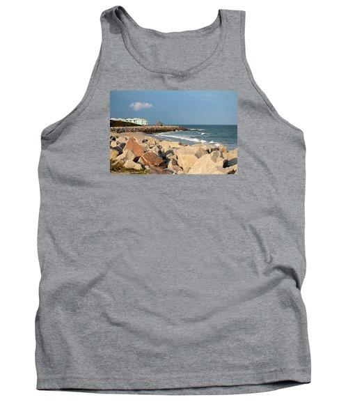 Tank Top featuring the photograph Carolina Coast by Cynthia Guinn