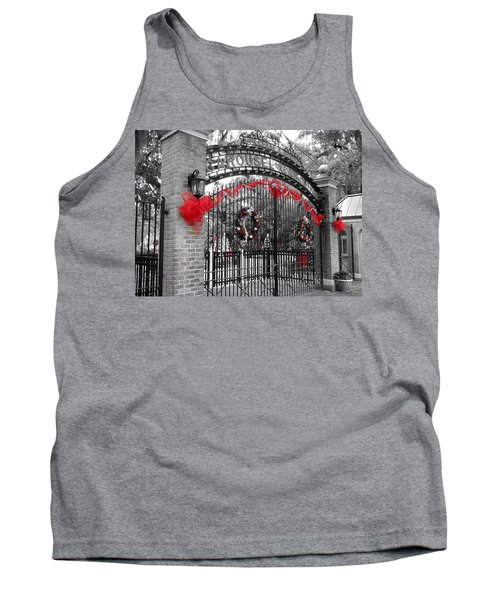 Carousel Gardens - New Orleans City Park Tank Top
