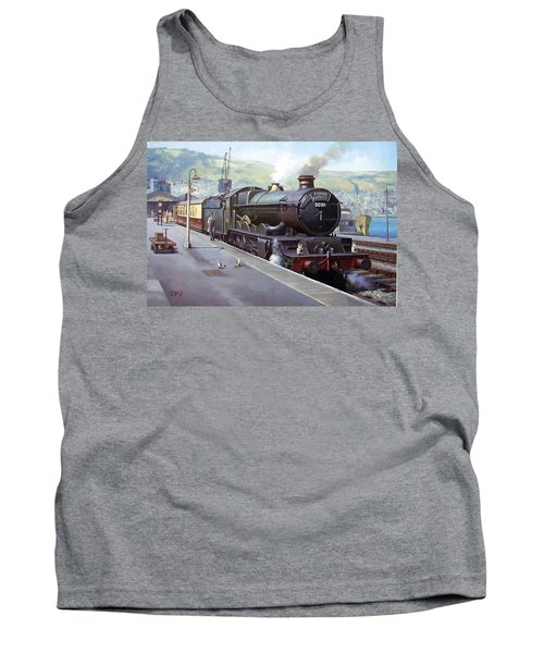 Castle At Kingswear 1957 Tank Top