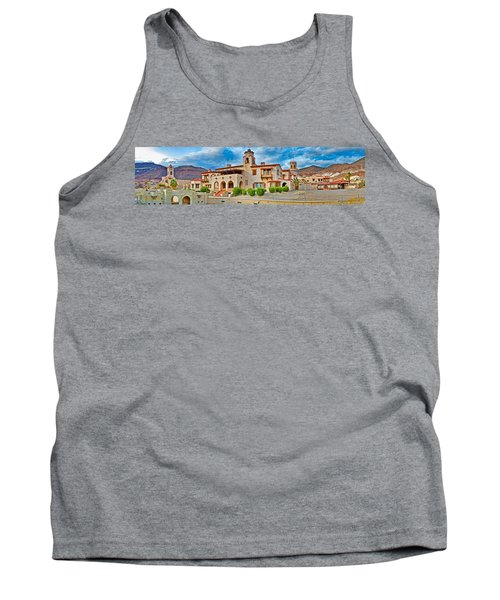Castle In A Desert, Scottys Castle Tank Top by Panoramic Images