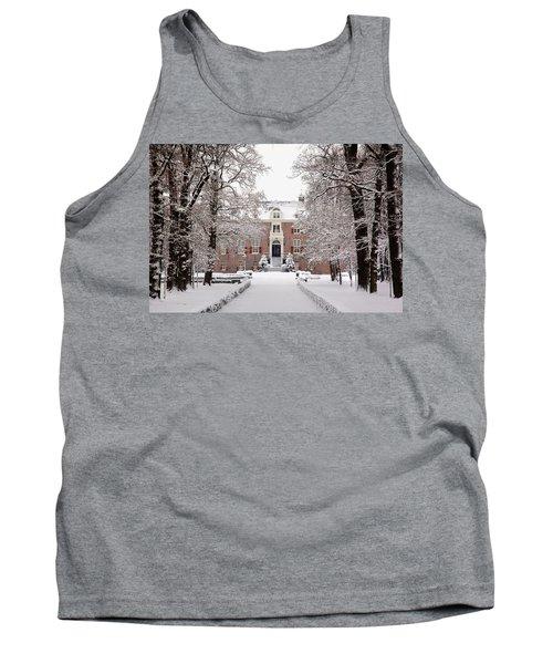 Castle In Winter Dress  Tank Top
