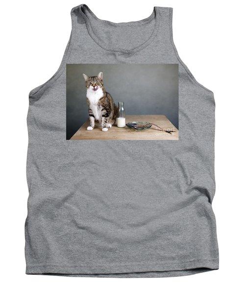 Cat And Herring Tank Top
