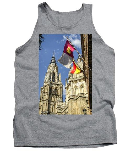 Catedral De Santa Maria De Toledo Tank Top