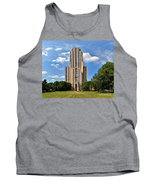 Cathedral Of Learning Pittsburgh Pa Tank Top