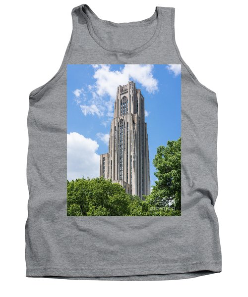 Cathedral Of Learning - Pittsburgh Pa Tank Top