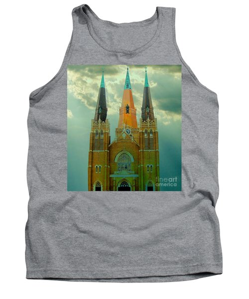 Cathedral Of The Holy Family  Tank Top