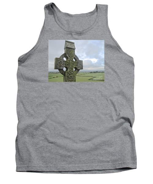 Tank Top featuring the photograph Celtic Cross by Suzanne Oesterling