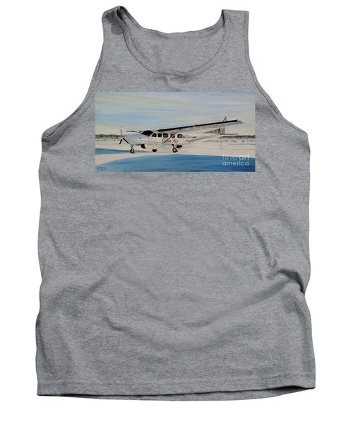 Tank Top featuring the painting Cessna 208 Caravan by Marilyn  McNish
