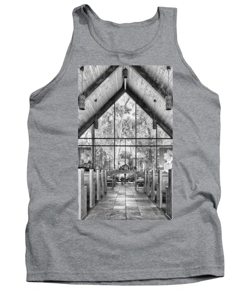 Tank Top featuring the photograph Chapel by Howard Salmon