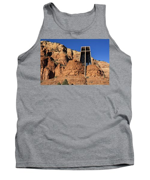 Chapel Of The Holy Cross Tank Top by Fred Larson
