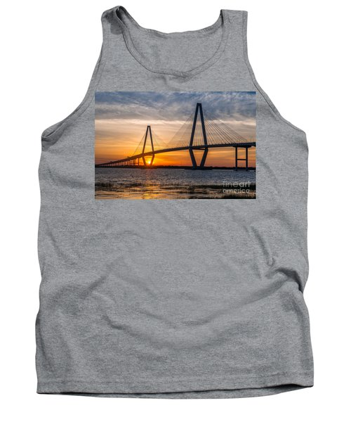 Charleston Sun Setting  Tank Top