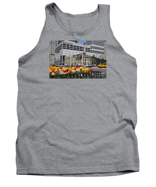 Chicago At Spring Time Tank Top
