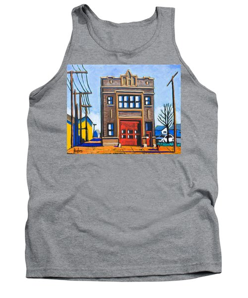 Chicago Fire Station Tank Top