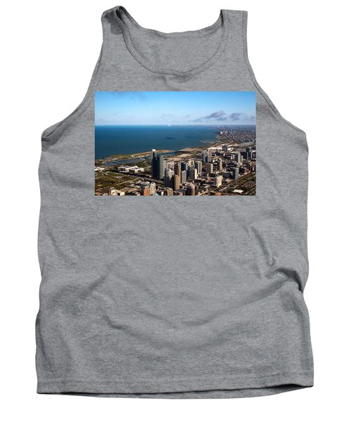 Chicago From Above Tank Top