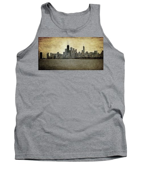 Chicago On Canvas Tank Top