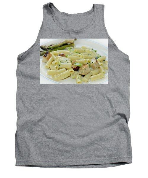 Chicken Alfredo Meal Tank Top