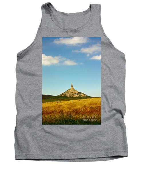 Chimney Rock Nebraska Tank Top by Robert Frederick