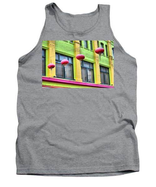 Chinatown Colors Tank Top