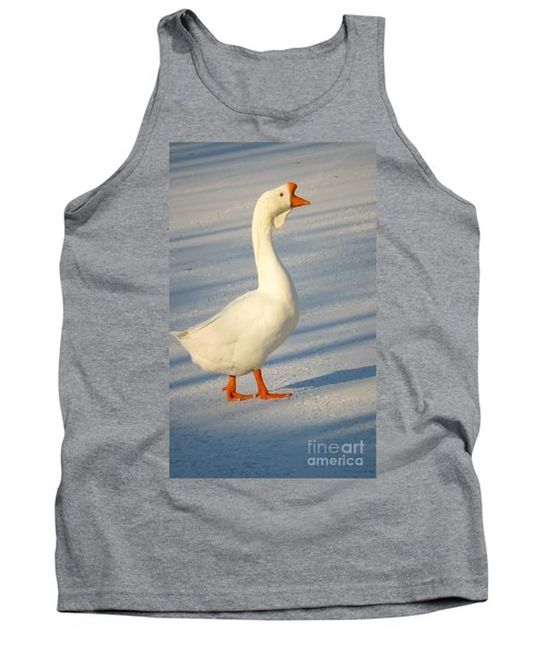 Chinese Goose Winter Tank Top