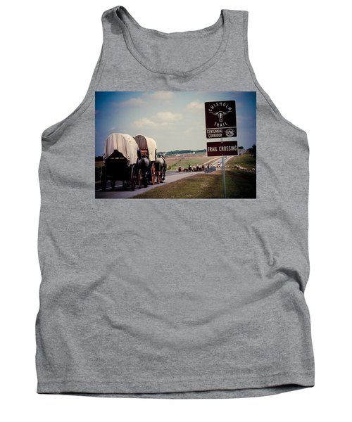 Chisholm Trail Centennial Cattle Drive Tank Top