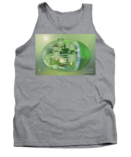 Chloroplast - Basis Of Life - Plant Cell Biology - Chloroplasts Anatomy - Chloroplasts Structure Tank Top