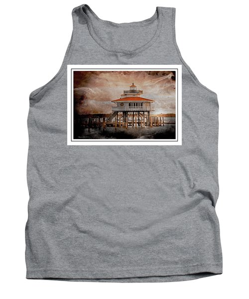 Choptank River Lighthouse Tank Top by Suzanne Stout