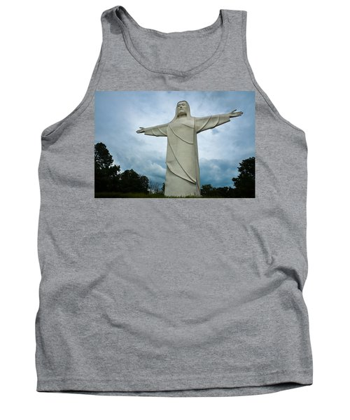 Christ Of The Ozarks Tank Top