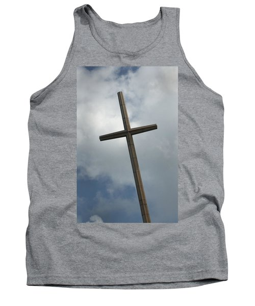 Christian Cross Tank Top