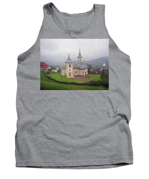 Church In The Mist Tank Top