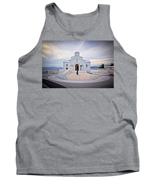 Church Of Croatian Martyrs In Udbina Tank Top by Brch Photography