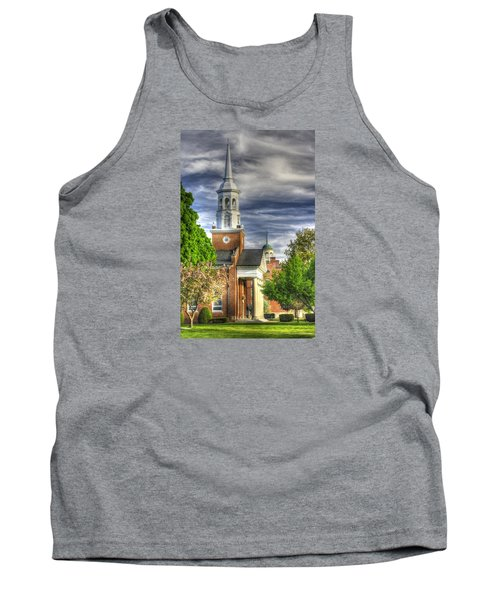 Church Of The Abiding Presence 1a - Lutheran Theological Seminary At Gettysburg Spring Tank Top by Michael Mazaika