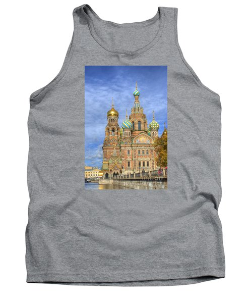 Church Of The Saviour On Spilled Blood. St. Petersburg. Russia Tank Top