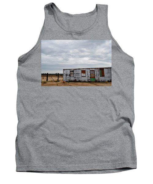 Cima Union Pacific Railroad Station Tank Top