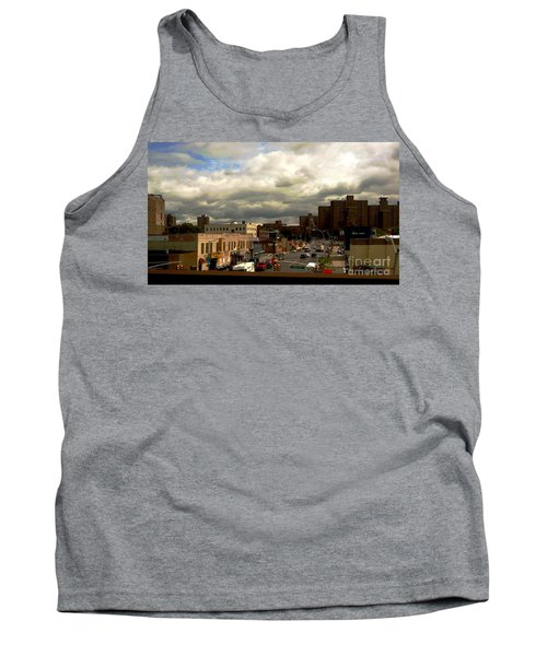 Tank Top featuring the photograph City And Sky by Miriam Danar