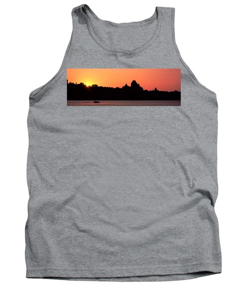 City At Sunset, Chateau Frontenac Tank Top