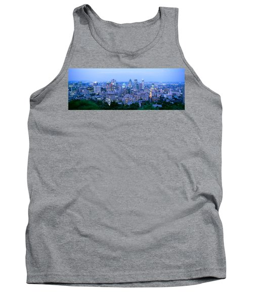 Cityscape At Dusk, Montreal, Quebec Tank Top