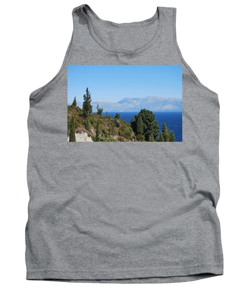 Tank Top featuring the photograph Clear Day by George Katechis