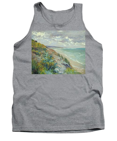 Cliffs By The Sea At Trouville  Tank Top